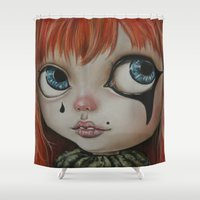 circus Shower Curtains featuring Circus  by Bella Harris