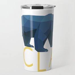 UCLA Geometric Bruin Travel Mug