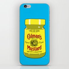 Proper Mustard iPhone & iPod Skin