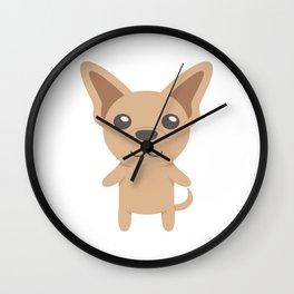 Chihuahua Gift Idea Wall Clock