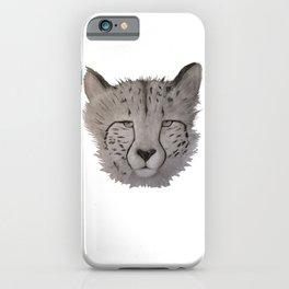 Cheetah Art  iPhone Case