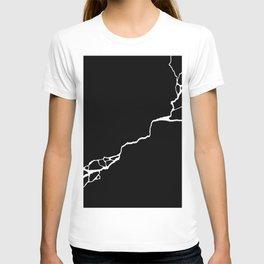 Diagonal Destroyed Dark T-shirt