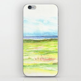 Sea meadow iPhone Skin