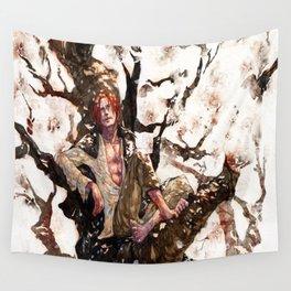 akagami shanks Wall Tapestry