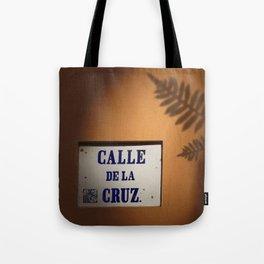 De la Cruz, Old San Juan Light Tote Bag