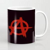 anarchy Mugs featuring Anarchy by ArtSchool