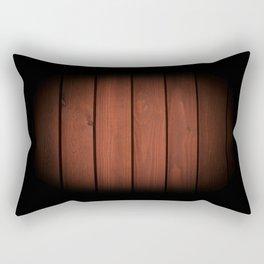 Brown dark boards texture Rectangular Pillow