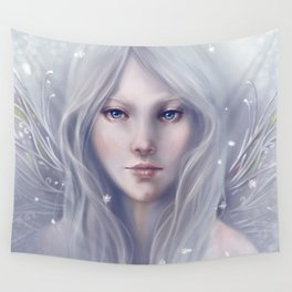 Snow Sprite Wall Tapestry