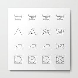 laundry time Metal Print
