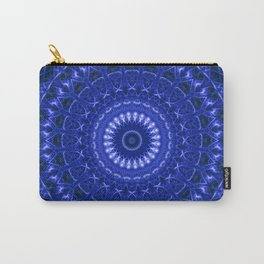 Dark blue mandala Carry-All Pouch
