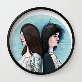 KENDALL AND KYLIE Wall Clock