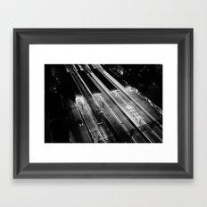 View on South Yarra station, Melbourne Framed Art Print