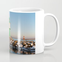 Mole in Warnemuende Coffee Mug
