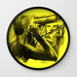Homage to Bowie - The Man Who Fell To Earth Wall Clock