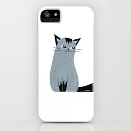 Long Tail Cat iPhone Case