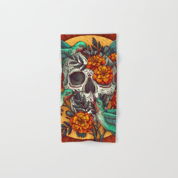 Dia de los Muertos Hand & Bath Towel
