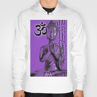 om Hoodies featuring OM by Enri-Art