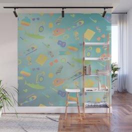 An Aquatic Life Wall Mural
