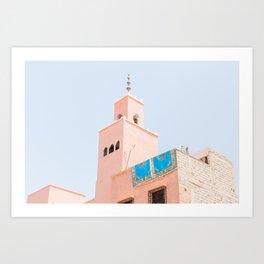 Marrakech Mosque Art Print