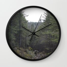 canada fir Wall Clock
