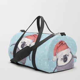 CHRISTMAS PENGUINS Duffle Bag