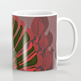 Monstera Spring Celebration Coffee Mug