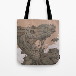 Aerial Station One Tote Bag