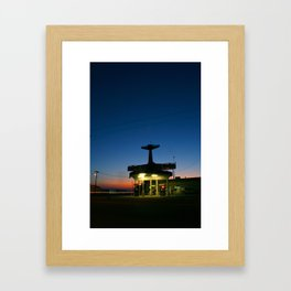 The Crashdown Framed Art Print
