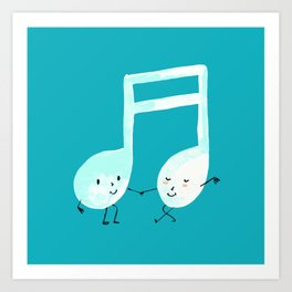 Our Song Art Print