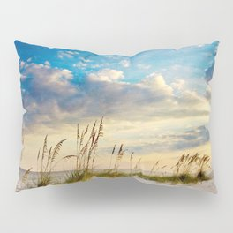 Sea Oats Beach Sunset Pillow Sham