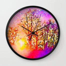 Dawn in Me Wall Clock