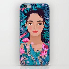 Jungle Girl iPhone Skin