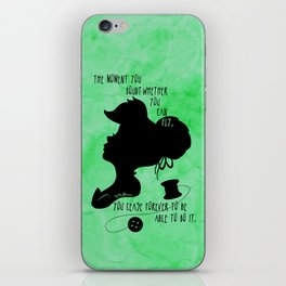 The Moment You Doubt You Can Fly iPhone Skin