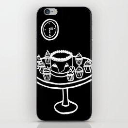Dauntless Breakfast (BLACK) iPhone Skin