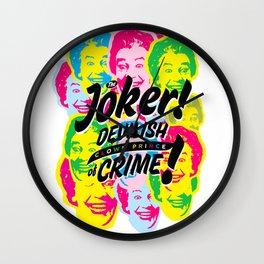 The Joker - Clown Prince of Crime Wall Clock