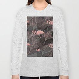 pink flamingos.. Long Sleeve T-shirt