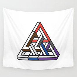 Triangular Wall Tapestry
