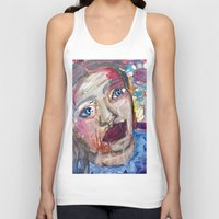river Tank Tops featuring River by S.Queimado-Lima