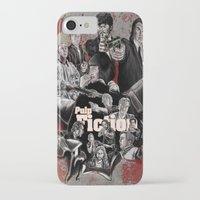 pulp fiction iPhone & iPod Cases featuring Pulp Fiction by AWAL