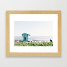 El Capitan Beach Framed Art Print