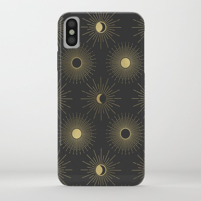 Moon and Sun Theme iPhone Case