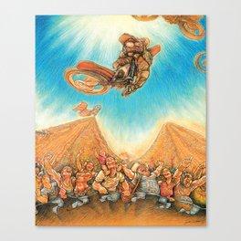 Motocross 4 Canvas Print