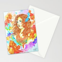 Mon Amie Le Poisson Stationery Cards