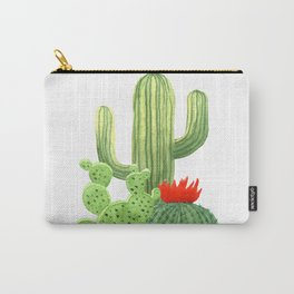 Perfect Cactus Bunch Carry-All Pouch