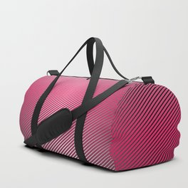Metallic Hot pink Sheen Duffle Bag