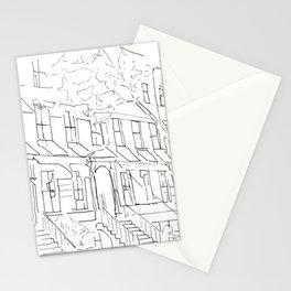 West Village, Manhattan Stationery Cards