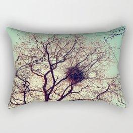 The hidden birds nest  Rectangular Pillow