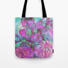 Tye-Dye Abstract Tote Bag