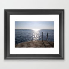 swedish sun Framed Art Print
