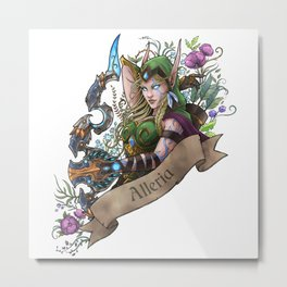 Huntress Metal Print